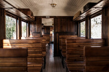 Old Wooden Train