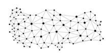 Turkey Map - Polygon Style Vector