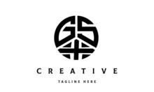 GSX Creative Circle Three Letter Logo