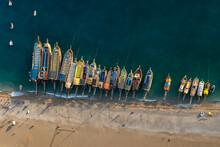 Aerial View Of The Beach In Oludeniz, Turkey