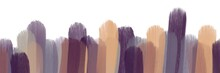 Abstract Painting Art With Purple And Browns Lines Paint Brush For Presentation, Website Background, Banner, Wall Decoration, Or T-shirt Design.