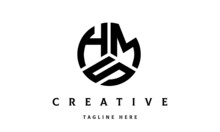 HMS Creative Circle Three Letter Logo