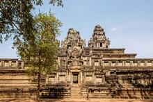 Old Ruins Of Ta Keo Temple At Angkor Wat, Cambodia