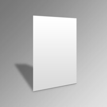 A4 Flyer Paper Mockup Design