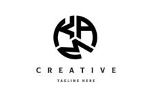 KAM Creative Circle Three Letter Logo