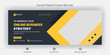 Creative corporate business marketing social media Facebook cover banner post template