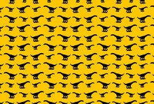 Dinosaur Silhouette Pattern