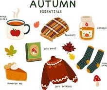 Set Of Autumn Essentials