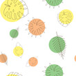 Tropical Palm, Monstera Leaves Seamless Pattern Background. Natural Design. Vector Illustration