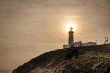 South Stack Lighthouse On The Isle On Anglesey, Wales