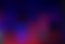 Dark Purple Vector Blurred Bright Background.