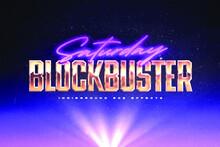 Blockbuster Cyber Editable Texr