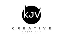 KJV Creative Circle Letters Logo Design Victor