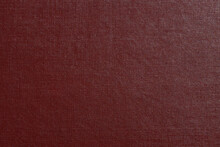 Red Genuine Leather. Background For Design