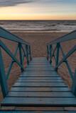 Fototapeta Fototapety z morzem do Twojej sypialni - Wieża ratunkowa WOPR