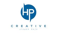 HP Creative Circle Letter Logo Design Victor