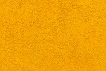 Mustard Background. Bright Texture. Yellow Background. Texture Paint. External Wall Decoration.