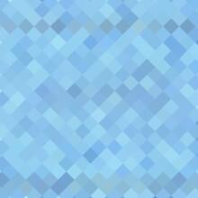 Blue Square Background. Presentation Template. Eps 10