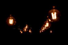 Retro Decoration Incandescent Light Bulb - Texture, Background