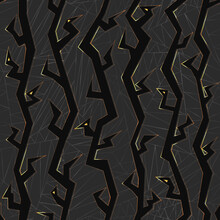 Raven Seamless Pattern.