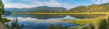 Travel On The Saint Joe River Scenic Byway In Idaho - Panorama Of Turtle Lake From The Saint Joe River Road Near Saint Maries Idaho-2