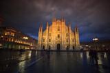 Fototapeta Londyn - Katedra w Mediolanie