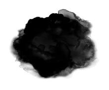 Watercolor Background - Black - 13