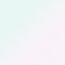 Minimal Diagonal Zigzag Pattern Design