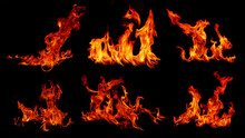 Flame Flame Texture For Strange Shape Fire Background Flame Meat That Is Burned From The Stove Or From Cooking. Danger Feeling Abstract Black Background Suitable For Banners Or Advertisements.