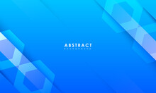 Abstract Blue Background With Creative Scratch, Digital Background, Modern Landing Page Concept.