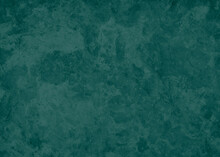 Blue Green Background, Teal Color Wall With Old Grunge Texture, Marbled Stone Pattern Design, Elegant Teal Wall Or Paper Background