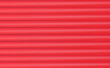 Long Red Pipes. Red Background Of Ribbed Tubes