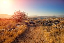 Arbel Cliff. Galilee, Israel