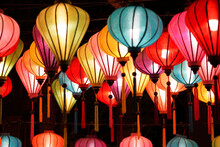 Lanterns In The Park