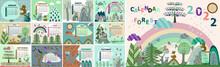 Calendar For Children Animals In The Forest