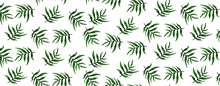 Seamless Pattern With Green Grass