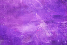 Grungy Violet Painting Background
