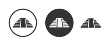 Building House  Icons In Flat Design With Elements For Mobile Concepts And Web Apps. Collection Modern Infographic And Pictogram.