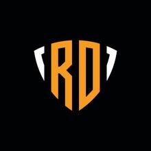 RO Logo Monogram Design Template