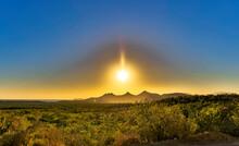 Desert Sunset In The Baja