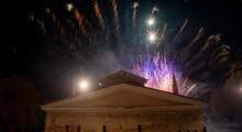 Fireworks In Bergamo