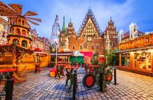 Wroclaw, Poland - Winter Christmas Market