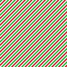 Red And Green Seamless Pattern With Peppermint Colors - Funny Hand Drawn Doodle, Seamless Pattern. Lettering Poster Or T-shirt Textile Graphic Design. Wallpaper, Wrapping Paper, Background.