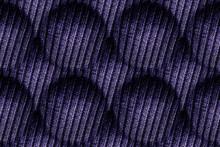 Knit Textures. Purple Scandinavian Borders.