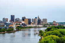 Views Of St. Paul From The High Bridge Overlook
