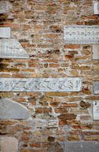Frieze On The Basilica Wall Of Santa Maria Assunta, Aquileia