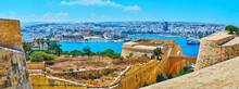 The Medieval Fortifications, Valletta, Malta