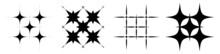 Abstract Geometric Form, Shape Element Vector Set