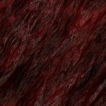 Crusty Blood Clot Gravelly Texture 3D Illustration