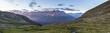 canvas print picture - Blick von der Linardhütte Engadin